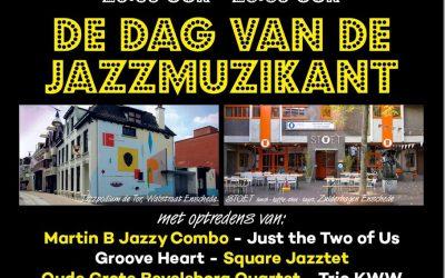 Dag van de Jazzmuzikant en Kunst in het Volkspark